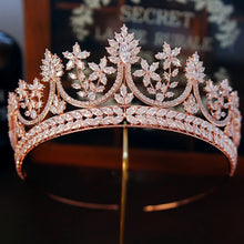 Load image into Gallery viewer, Rich Rose High-End Princess Diadem