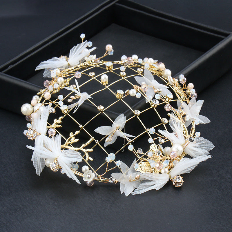 Old-Fashioned Folklore Crown Bonnet