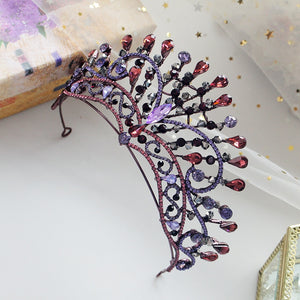 Popular Purple Peacock Diadem