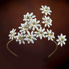 Load image into Gallery viewer, Peaceful Wild Daisy Tiara