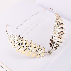 Gold Fashion Decorative Hairpiece
