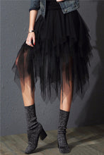 Load image into Gallery viewer, Outgoing Fringe Black Tutu