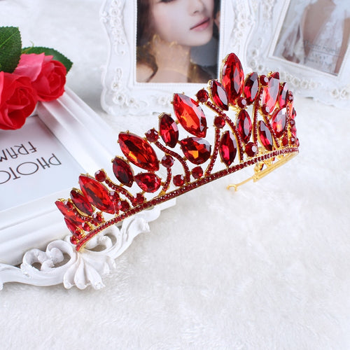 Courageous Red Hot Crown