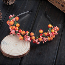 Load image into Gallery viewer, Bohemian Berry Fairy Headband