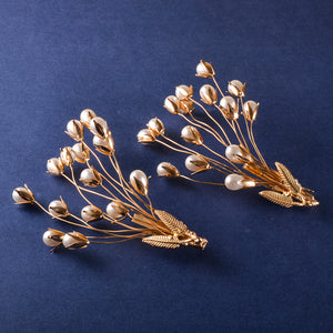 Quaint Bewitching Pearl Hair Pins