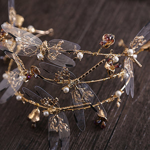 Bold Distinguished Dragonfly Crown