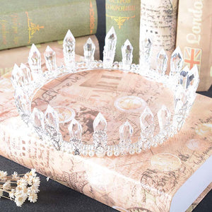 Royal Crystal Mermaid Crown