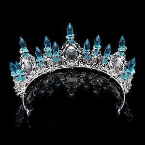 Sky Blue Marvelous Pageant Crown