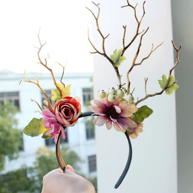 Voguish Fairy Floral Headpiece
