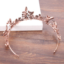 Load image into Gallery viewer, Chic Bronze Leaf Diadem