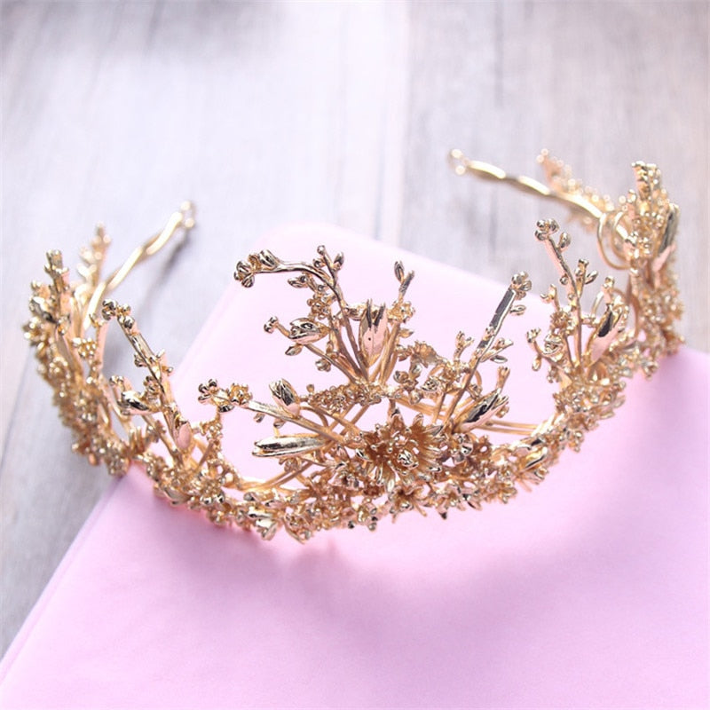 Enticing Gold Quirky Crown