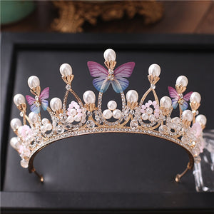 Big-Hearted Butterfly Crown