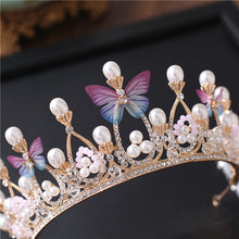 Load image into Gallery viewer, Big-Hearted Butterfly Crown