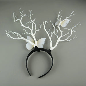 Fantastical Forest Witch Headpiece