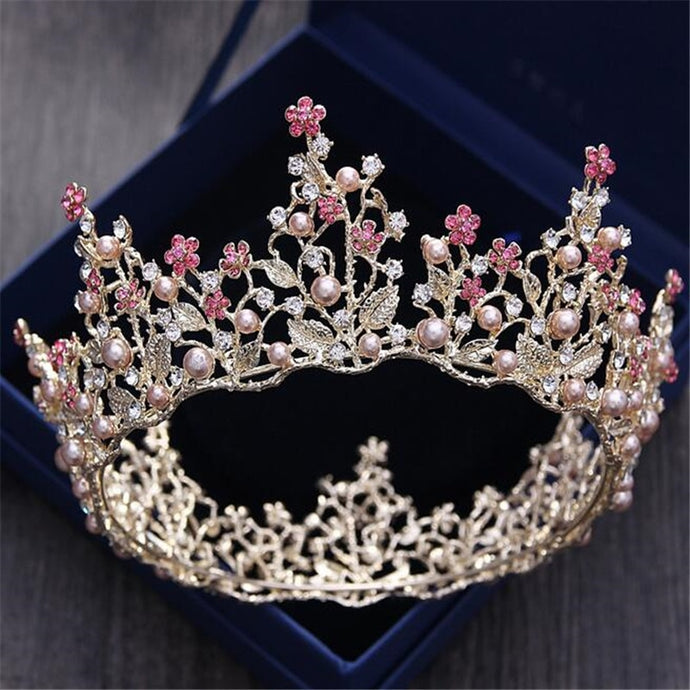 Noble Pink Princess Diadem