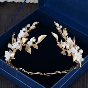 Queenly Elegant European Headpiece