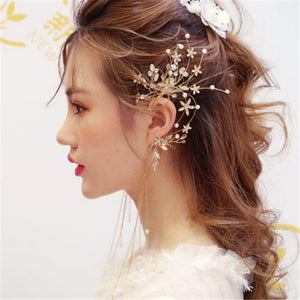 Radiant Floral Earring Headdress