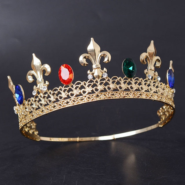 Yearning Colorful Kingly Crown