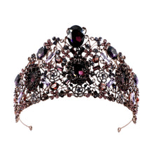 Load image into Gallery viewer, Phenomenal Luxury Purple Tiara