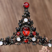 Load image into Gallery viewer, Show Stopping Red Crystal Crown