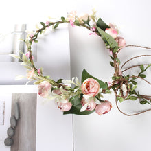 Load image into Gallery viewer, Flower Wreath Festival Headband