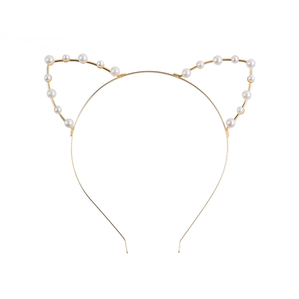 Meow Flirty Kitty Headband
