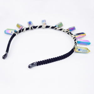 Hypnotic Rainbow Rocker Headband