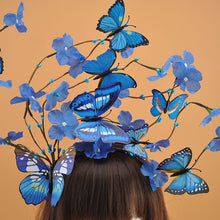 Load image into Gallery viewer, Cosmic Fashion Butterfly Headband