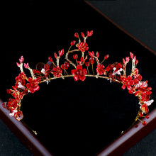 Load image into Gallery viewer, Red Magic Flower Tiara