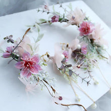Load image into Gallery viewer, Wondrous Fantasy Fairy Wreath