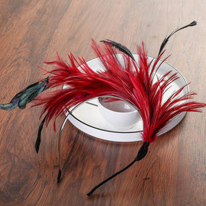 Flying Faux Feather Headbands