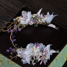 Load image into Gallery viewer, Brilliant Handmade Floral Headdress