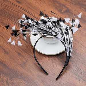 Faux Feather Festival Hairbands