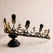 Load image into Gallery viewer, Dark Fairy Medieval Diadem