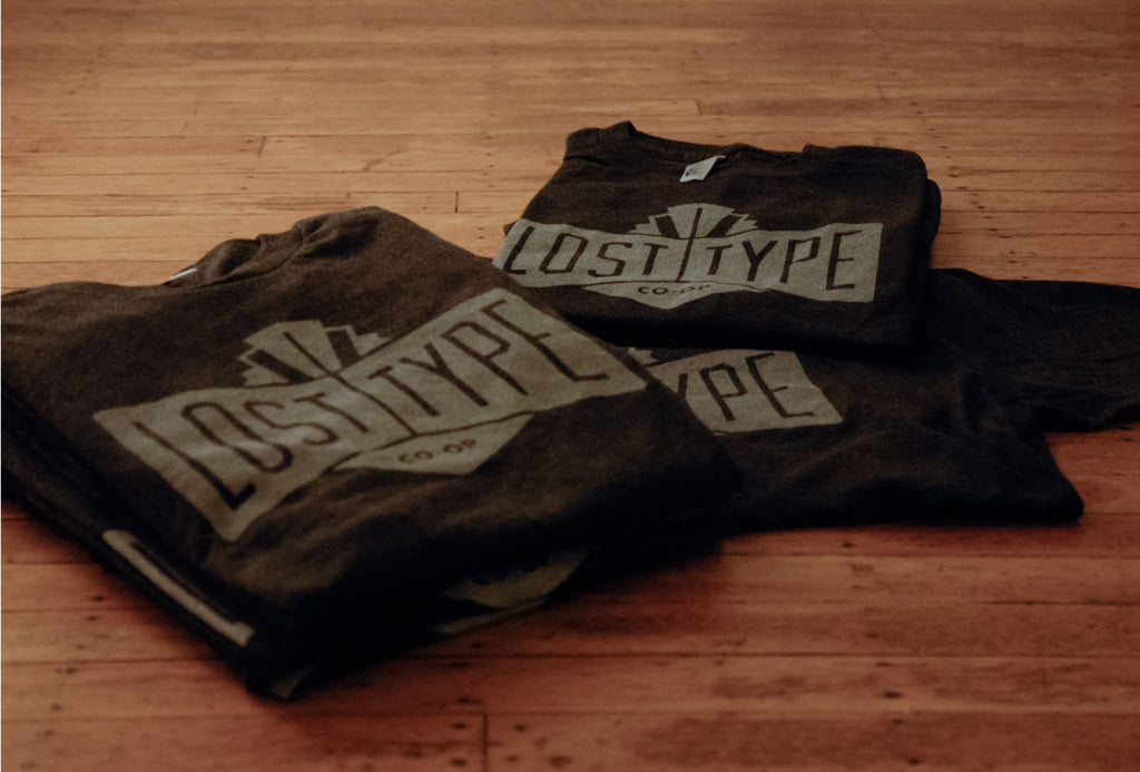 Lost Type Logo T-Shirt