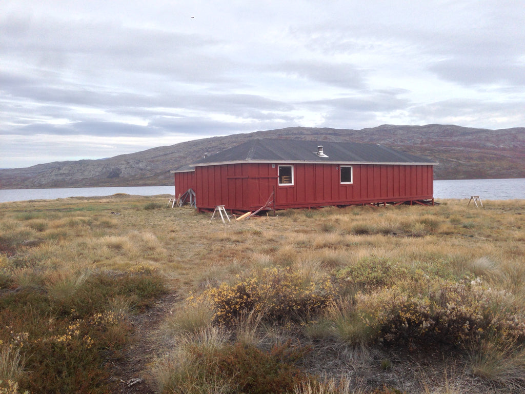Canoe Center Hut, Arctic Circle Trail, Greenland