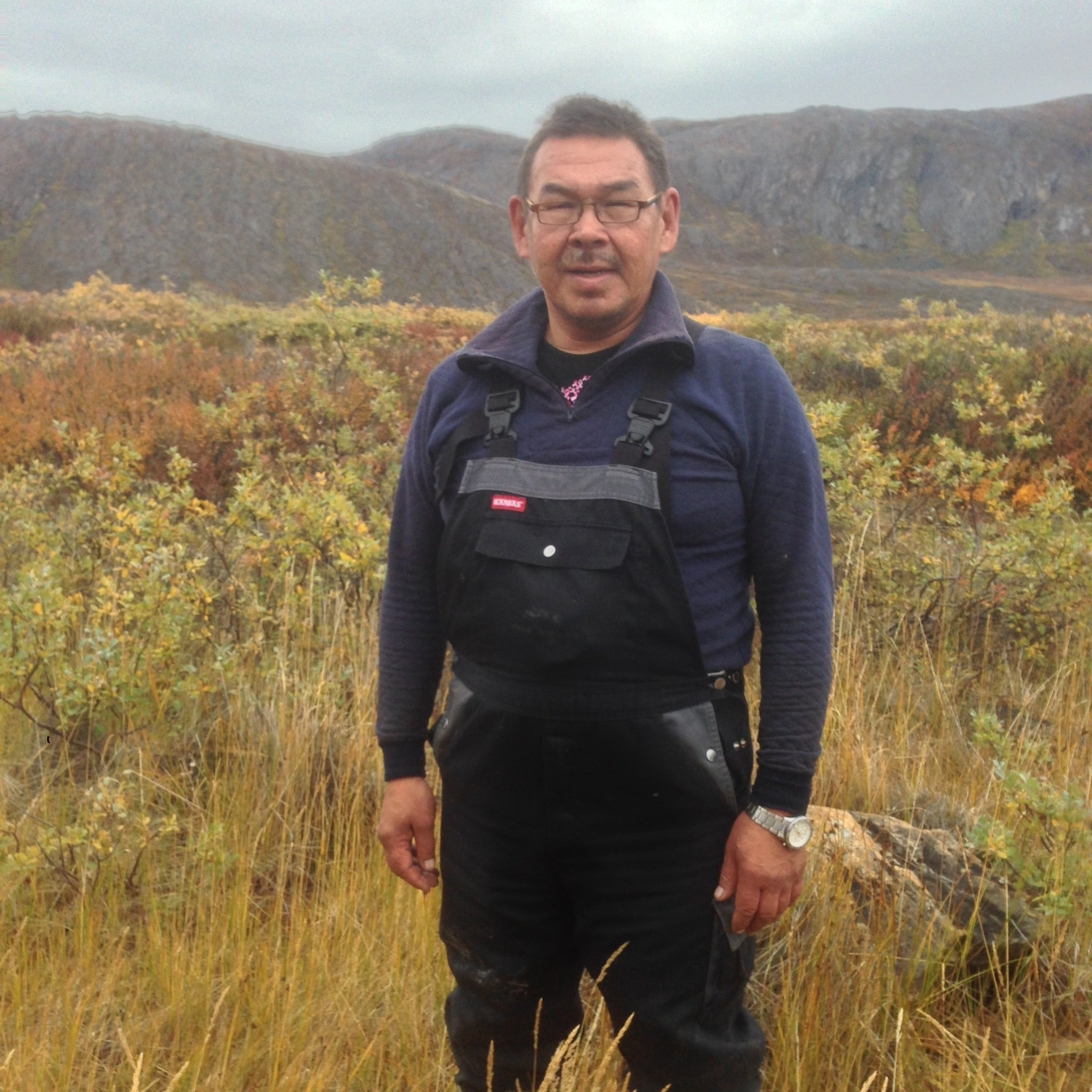 Captain Nikolai, Inuit Fisherman, Inuit Hunter, Greenland (Arctic Circle Trail)