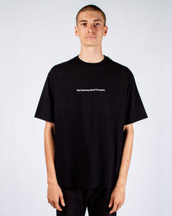 DEAN JAMES BLACK T-SHIRT - OG LOGO