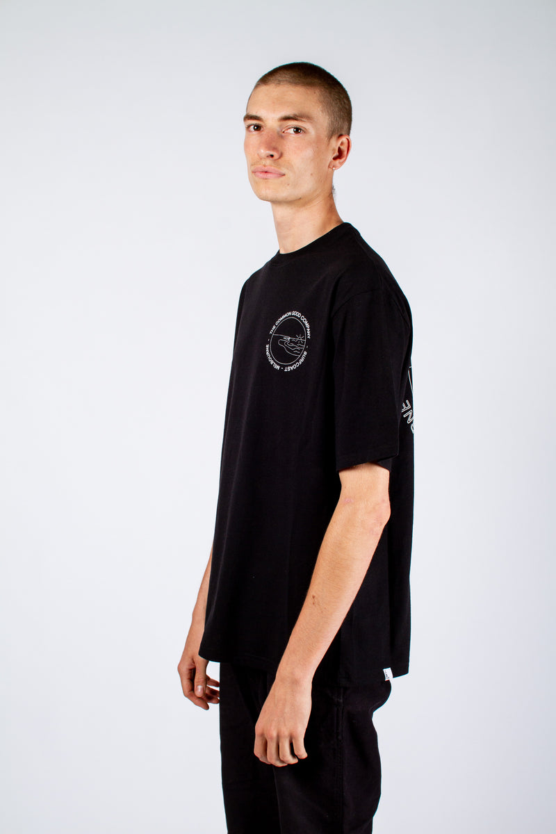 DEAN JAMES T-SHIRT BLACK - WINKIPOP