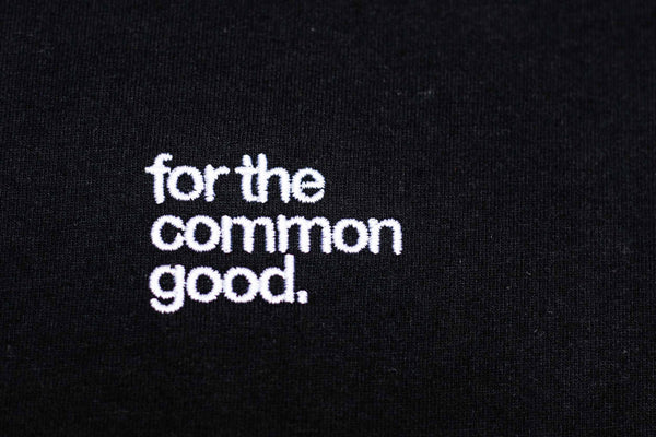GRACE JONES T-SHIRT - BLACK - FOR THE COMMON GOOD