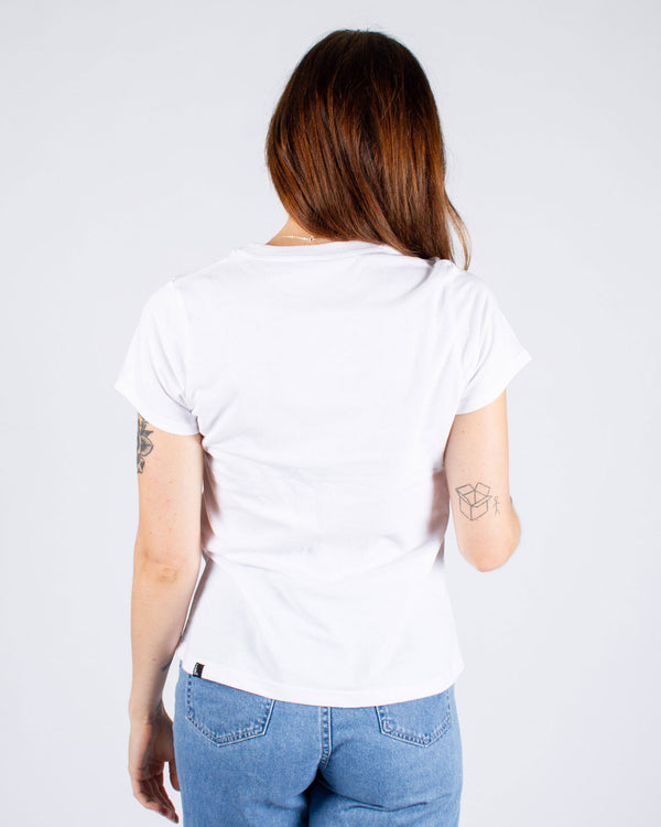 JANE DOE T-SHIRT - WHITE OG LOGO