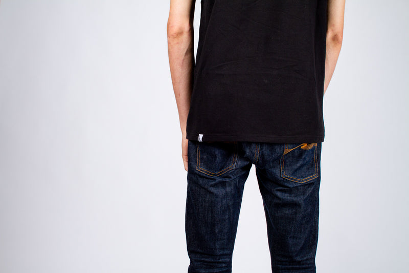 JOHN CITIZEN T-SHIRT - BLACK MONOGRAM