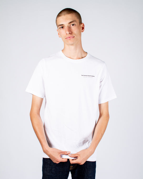 JOHN CITIZEN T-SHIRT - WHITE SURFCOAST|MELB
