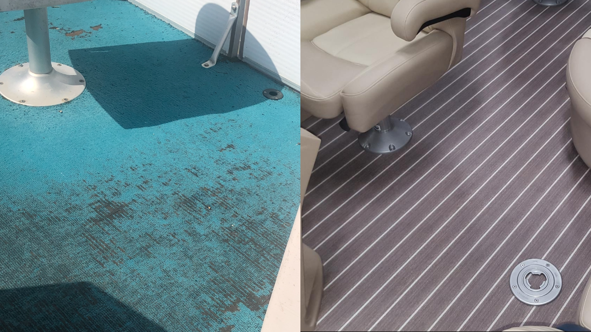 <p></p><br>6 Reasons Your Pontoon Boat Needs an Anti-Microbial Marine Flooring from AquaTread®