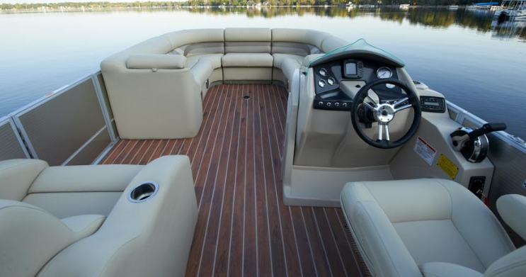</p></br> Breathe New Life into Your Pontoon Boat with a Simple Switch to Vinyl Marine Flooring