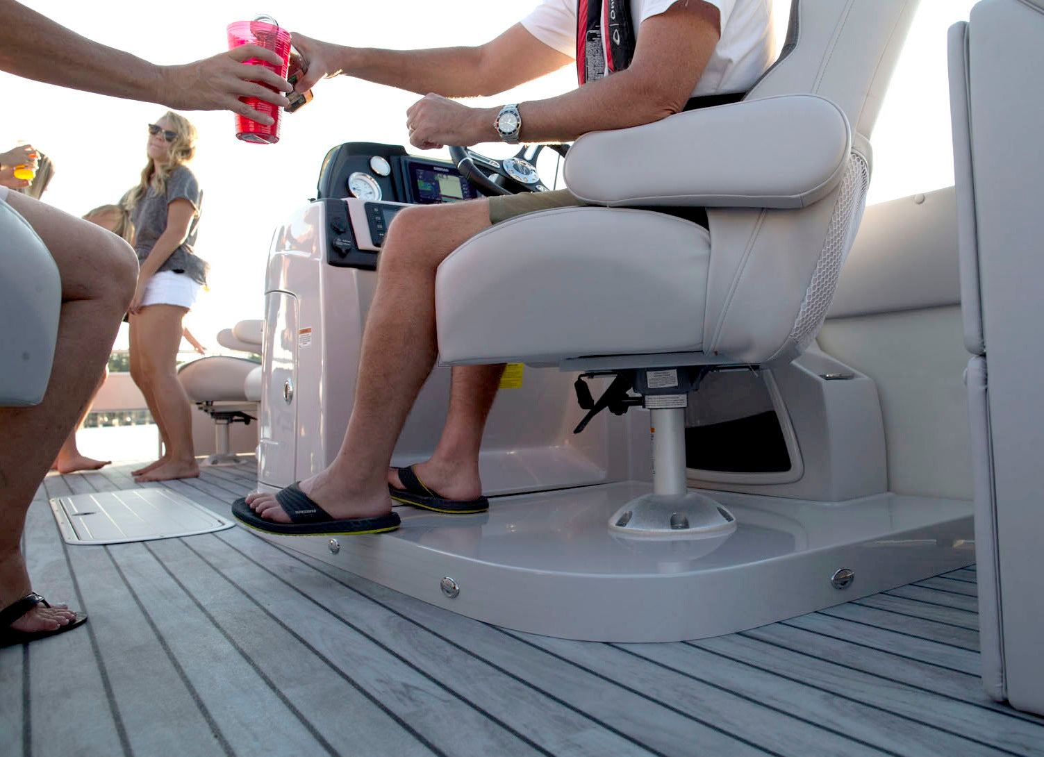 </p>What Kind of Boat Flooring for My Pontoon? The Pros and Cons of Boat Carpet vs. Vinyl Flooring