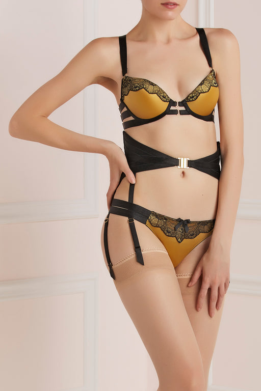 Bordelle Hourglass waist-clincher belt Valinia Set Workingirls luxury lingerie