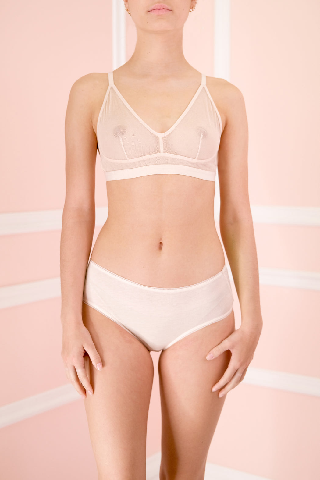 Ophelia Tulle Demi Bra by SKIN