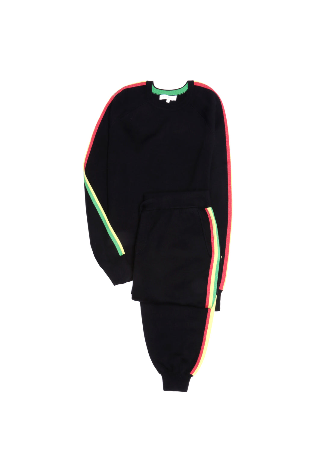 Missy Kingston Silk-Cashmere Tracksuit by Olivia Von Halle