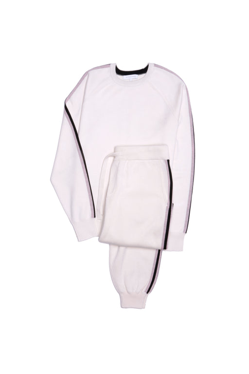 Missy Moscow Silk-Cashmere Tracksuit by Olivia Von Halle